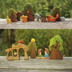 А вот так #деревья и #фигурки можно использовать #вигре!