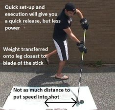 How to take a quick release wrist shot