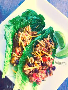21 Day Fix Quinoa Taco Casserole (Crock Pot or Instant Pot) - Confessions of a Fit Foodie Clean Eating Recipes, Lunch Recipes, Healthy Dinner Recipes, Healthy Eating, 21 Day Fix Quinoa Recipes, Supper Recipes, Healthy Meals, Healthy Life, Healthy Food