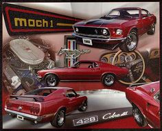 Ford Mustang Mach 1 Cobra Collectible Metal x Decorative Tin Sign Mustang Mach 1, Ford Mustang For Sale, Ford Mustangs, Tin Signs, Metal Signs, 1964 Ford, Ford Classic Cars, Decorative Signs, Ford Motor Company