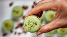 Pistachio Macarons, Honeydew, Avocado, Lime, Fruit, Sweet, Recipes, Sugar, Blog