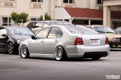 Reflex Silver MK4 Jetta with Votex rear bumper and CCW wheels