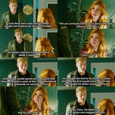 """#Shadowhunters 1x08 """"Bad Blood"""" - Jace and Clary"""