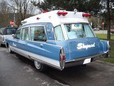 |1| 1968 Cadillac Ambulance