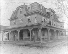MANSARD ROOF | Photo credit: MHT File Photo , Historic photo