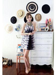 Nunestra amiga Lizapr nos muestra un montón de ideas para guardar nuestros sombreros de una manera original. #belleza #moda