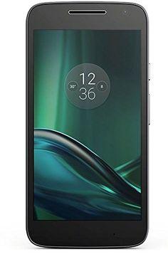 Moto G4 Play - Smartphone de 5 (Dual SIM, 4G, Cortex-A53, RAM de 2 GB, memoria interna de 16 GB, cámara de 8 MP, Android 6), color negro