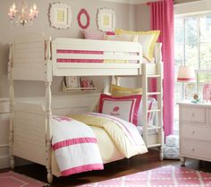 pottery barn | Pottery Barn - Catalina Bunk Bedroom Set