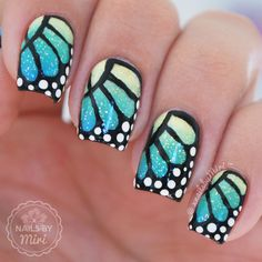 Nailpolis Museum of Nail Art | Butterfly Wings by xNailsByMiri