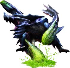 Brachydios Discussion This Article contains Images of Brachydios. Monster Hunter Online, Monster Hunter 3 Ultimate, Monster Hunter Wiki, Fantasy Creatures, Mythical Creatures, Creatures 3, Monster Hunter Frontier, Dragon Mythology, Beast Creature