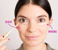 Concealer Hacks Every Woman Should Know 20 ways you DIDN'T know how to use concealer. The beauty hacks that will blow your mind, ways you DIDN'T know how to use concealer. The beauty hacks that will blow your mind, here: Concealer Tips, Beste Concealer, How To Apply Concealer, How To Apply Makeup, Best Under Eye Concealer, Applying Makeup, How To Apply Foundation, Beauty Hacks For Teens, Makeup Tricks
