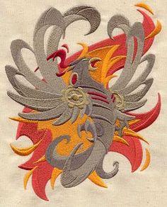Steampunk Phoenix_image