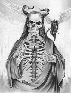 Jesucristo 'El Diablo' by ART GOD & LOVE INC ® - Dayron Villaverde Hernández | 33-9013