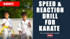 Karate Training - Reaction & Speed Drill for Punches ( Zuki ) Karate Training, Gym Training, Training Tips, T Is For Train, Cardio Kickboxing, Speed Drills, Training Academy, Christmas Train, Brazilian Jiu Jitsu