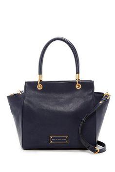 Bentley Leather Winged Double Shoulder Bag