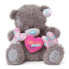 """20"""" Things That Make Me Happy Me to You Bear  £39.99"""
