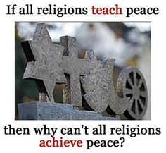 Religions and peace