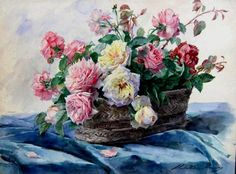 The Athenaeum - Roses (Madeleine Jeanne Lemaire - No dates listed)
