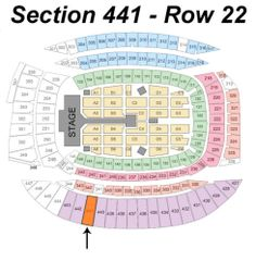 3 Tickets - One Direction: Where We Are Tour 08/29/14 (Chicago, IL) Section 441 www.TheConsignmentBag.com New items arrive daily and everything ships Worldwide!