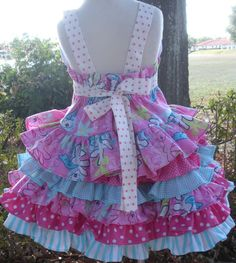 Custom Boutique My Little Pony Fabric 2 Piece by hottotscoolkids2, $89.00