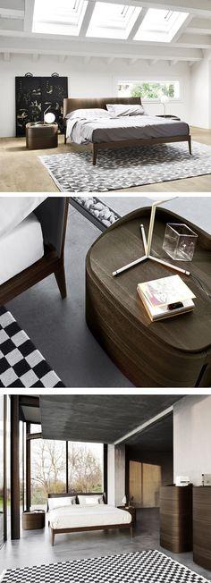 Passend zur Kommode gibt es auch einen Nachttisch aus der Serie Round mit einem runden Kantenprofil. #Nachtschrank #Nachttisch #nightstand #Schlafzimmer #bedroom #Designmöbel #Wohntrend #Wohnstil #home #einrichten #wohnen #Inneneinrichtung #interiordesign #inderiordecorating #modern #zeitlos #minimalistisch #minimalism #Livarea