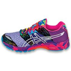 ASICS Gel - Noosa Tri 8 - Women's - Black/Onyx/Confetti, because if I must exercise I want shoes that look like this. Best Trail Running Shoes, Asics Running Shoes, Asics Shoes, Black Running Shoes, Saucony Shoes, Running Sneakers, Asics Gel Noosa, Workout Shoes, Workout Gear