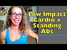 Low Impact Cardio + Standing Abs MetCon Home Workout . This workout features plenty of heart-pounding cardio exercises without all the pounding on your joints (or downstairs neighbors). High intensity intervals of cardio exercises are paired with slow 30 Day Ab Workout, Abs Workout Routines, Workout Videos, At Home Workouts, Free Workout, Ab Workouts, Mini Workouts, Exercise Cardio, Excercise