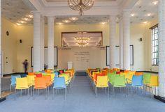 #kusch Presente e futuro do #design. @EscinterMS  #Workplaceofthefuture #cadeiras #escritorio #moveis