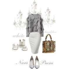 """""""White Chandelier"""" by narminq on Polyvore"""