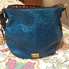 Tignanello bag Tignanello beautiful blue bag. Barely used. Like new. Tignanello Bags Shoulder Bags