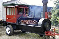 BBQ Train Cooker