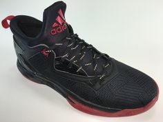 SR4U Black Reflective Soccer Laces on adidas Lillard 2