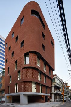 Gallery of Building / Sosu Architects - 5 Architecture Renovation, Modern Architecture House, Futuristic Architecture, Facade Architecture, Modern Buildings, Residential Architecture, Amazing Architecture, Monumental Architecture, Famous Buildings
