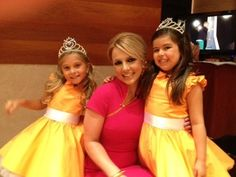 Britney with Sophia Grace & Rosie on The Ellen Show.