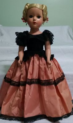 RARE LATE 1940'S TO EARLY 1950'S MADAME ALEXANDER MARGARET (GODEY?) 17 IN DOLL #Dolls