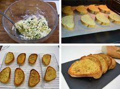 Pan de ajo, receta casera:El pan de ajo es un aperitivo ideal, crujiente, con mucho sabor y a casi todo el mundo le gustará. Es una receta que no puedo...