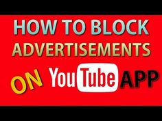 cool How to Block Ads on Youtube Android APP | NO ROOT REQUIRED #NewTechnique