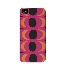 Marimekko Kaivo Pink/Orange iPhone 5/5s Case - Marimekko iPhone Cases