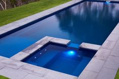 Pools Inground, Fiberglass Swimming Pools, Outdoor Ideas, Outdoor Decor, Backyard, Patio, Swimming Pool Designs, Home Upgrades, Pool Landscaping