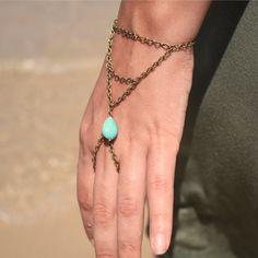 turquoise slave bracelet idea