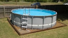 Landscaping around base of Intex Ultra Frame pools - Page 6