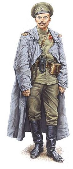 Lieutenant-Colonel, 94th Yeniseiski Regt, from Russian Imperial Army during WW1.