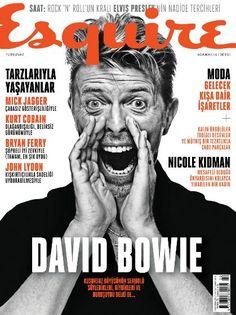 David Bowie - Esquire Magazine Cover [Turkey] (February 2016)