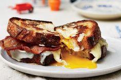 egg-in-a-hole-sandwich / Photo by Nicole Franzen