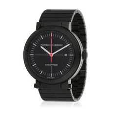 HERITAGE C. Automatikuhr Zifferblatt: schwarz Armband: Titan Ø: 42 mm