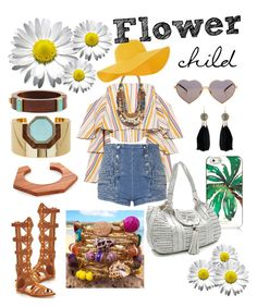 """Flower Child"" by miloliilove on Polyvore featuring Caroline Constas, Pierre Balmain, KG Kurt Geiger, Accessorize, Chicnova Fashion, Wildfox, Kate Spade, Anya Hindmarch, Ralph Lauren Collection and Lizzie Fortunato"