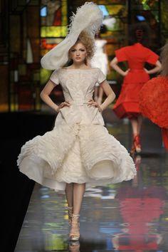 Christian Dior: Paris Fashion Week Haute Couture S/S 2009 John Galliano