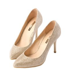 Grace giftGrace gift 官方購物網站 - 星爍名媛金屬尖頭細高跟鞋