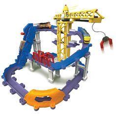 "Chuggington Stack Track Brewster's Big Build Adventure Playset -  TOMY - Toys""R""Us"