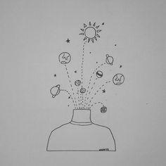 #dibujo #universo